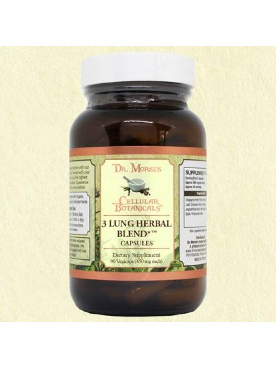 3 Lung Herbal Blend (90 Capsules)